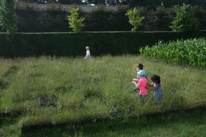 Schoolreisje in het kistendoolhof
