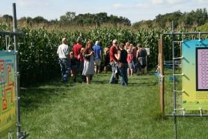 Familiedag met bezoek aan maisdoolhof