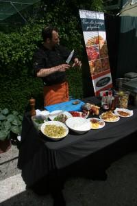 Uitleg door chef-kok Marc op de PRIMAdag