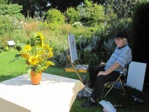 Tafareel gebaseerd op Van Gogh op de schilderdag 2015