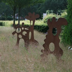 Kunst van DeMedici Beeldende Kunst in de tuin