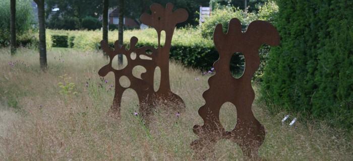 Kunst in de tuin