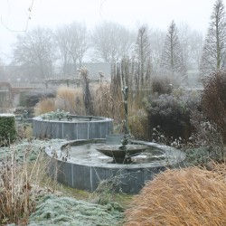 Winter in de seizoenborders