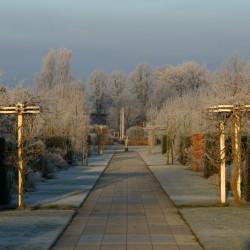 Winter over de diagonaal